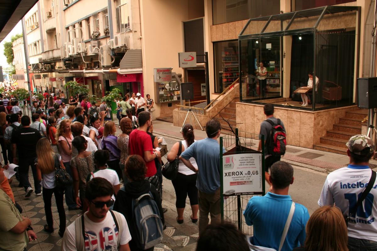 29/11/2010 - Rua Jerônimo Coelho - Florianópolis
