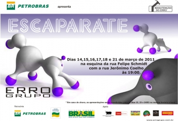 Cartaz - Divulgação - Temporada de 14 a 18, e 21 de março de 2011