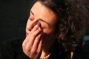 Luana Raiter em jogo de aparências - Ensaio geral - Fpolis - 2010