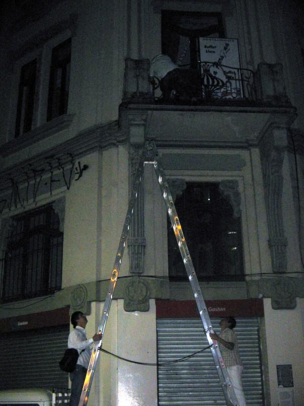 08/04/2011 - Desmontagem Formas de Brincar - Centro - POA