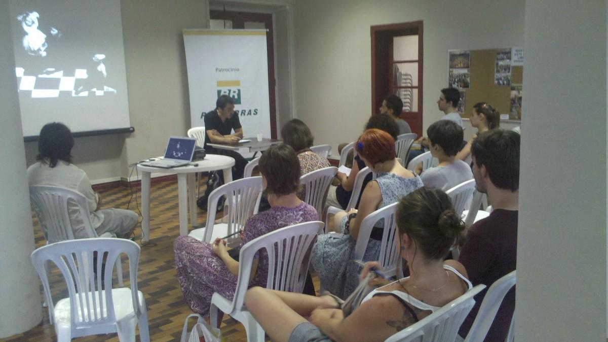 10/02/2011 - Conversa com Emilio Garcia Wehbi - Fundação Franklin Cascaes